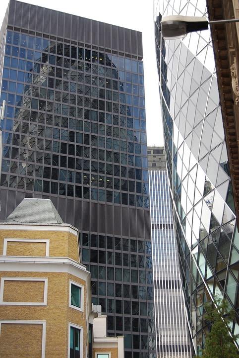 Modern, Architecture, Glass, Skyscraper, Tower