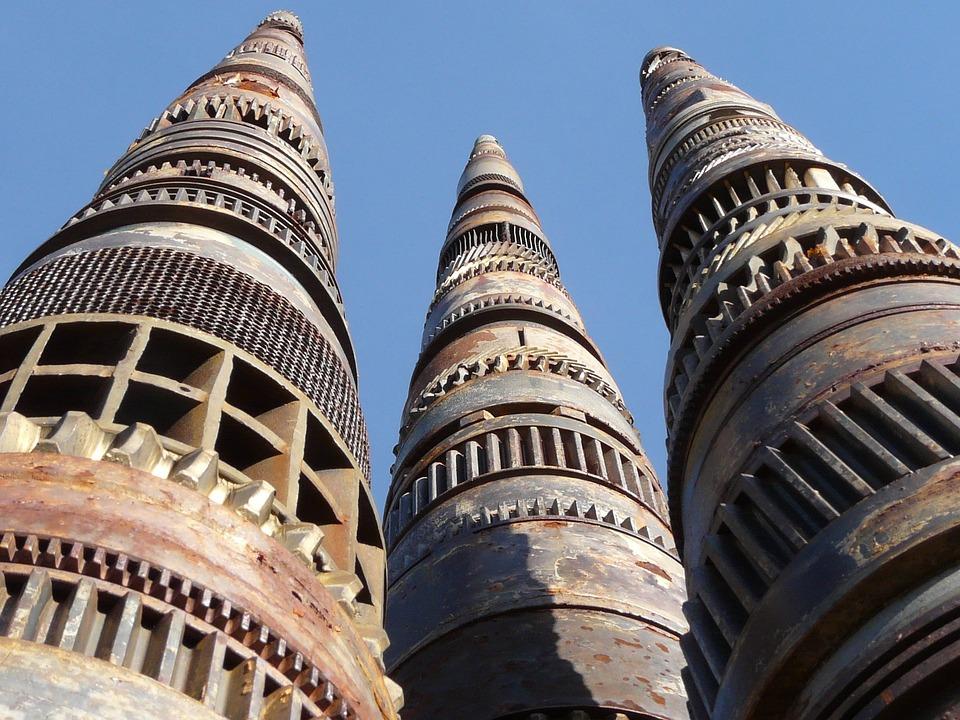 Tower, Towers, Achitecture, Artwork, Metal, Iron