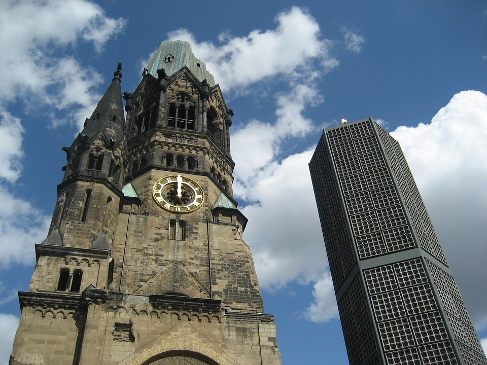 Berlin, Architecture, Tower, Symbol, House, Church