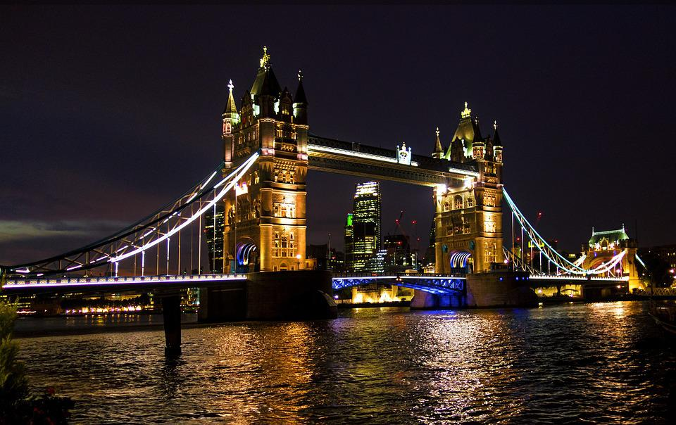 London, Tower Bridge, Bridge, United Kingdom, England