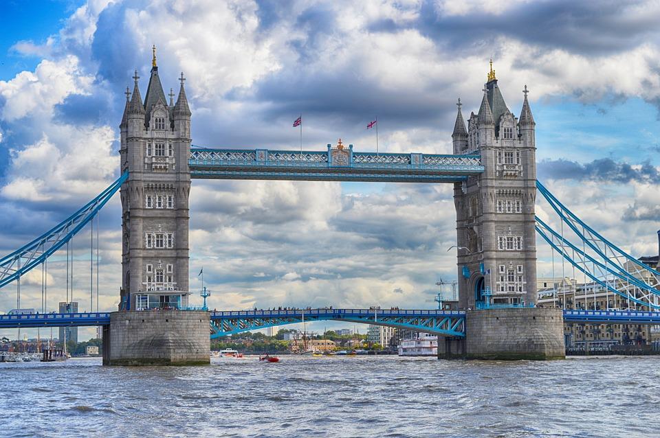 Tower Bridge, London, Thames, England, Bridge, River