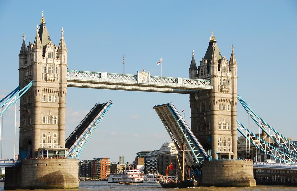 London, Bridge, Tower Bridge, Ship, England