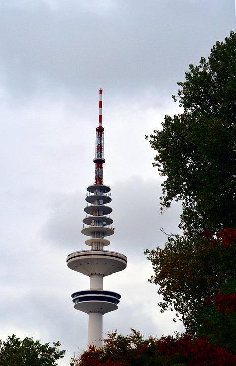 Tv Tower, Heinrich-hertz-turm, Building, Tower, High