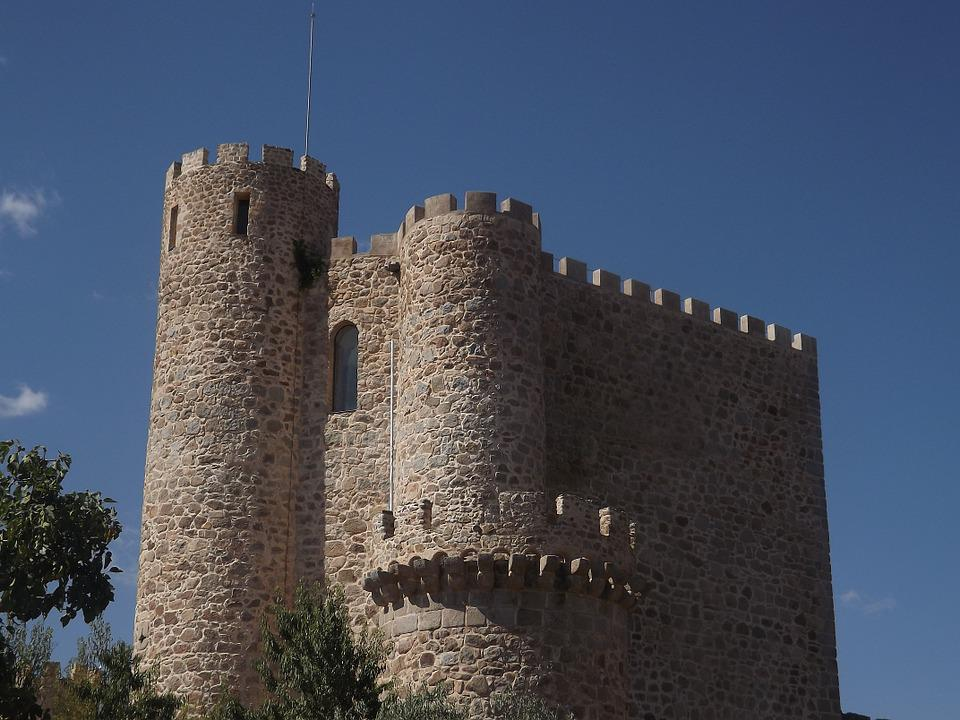 Castle, Fortress, Tower, Architecture, Madrid
