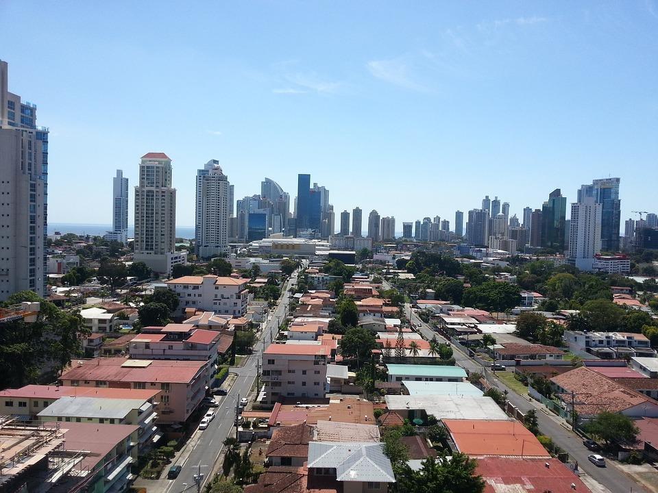 City, Panoramic, Urban, Tower, Building, Views