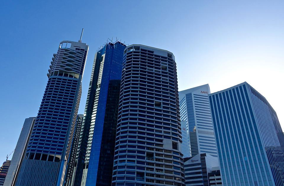 Skyscrapers, Buildings, City, Business Building, Tower
