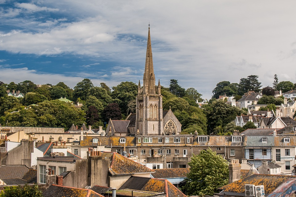 England, City, Old, Architecture, Uk, Tower, View