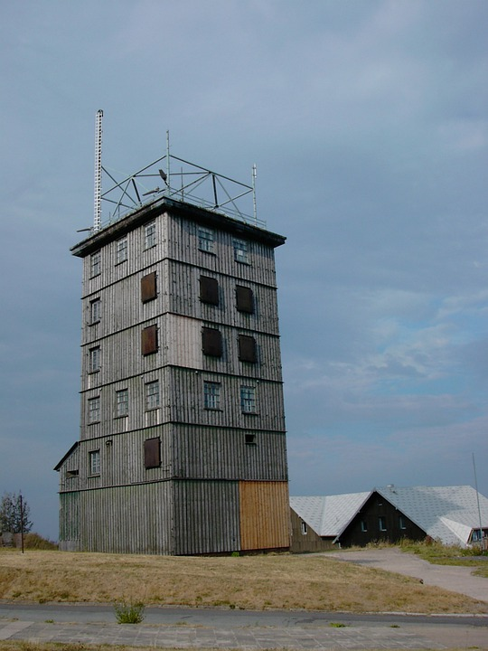Ddr, Former Border Tower, Watchtower, Tower, Border