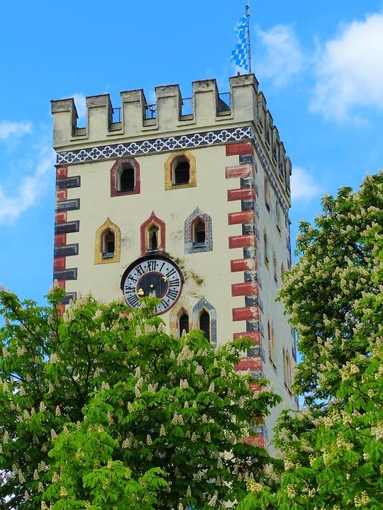 Landsberg Am Lech, Lech, Bayer Gate, Tower, Goal