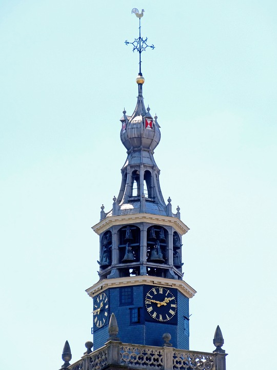 Sint Janskerk, Gouda, Tower, Church, Spire, Steeple