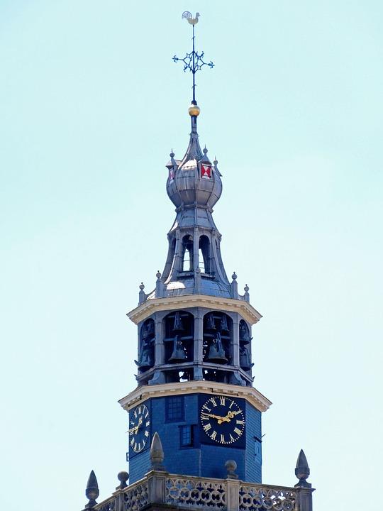 Sint Janskerk, Gouda, Tower, Church, Spire, Steeple