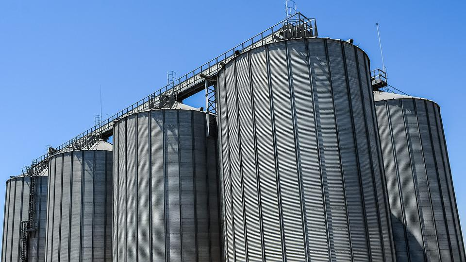 Silo, Tower, Industry, Storage, Industrial, Tank
