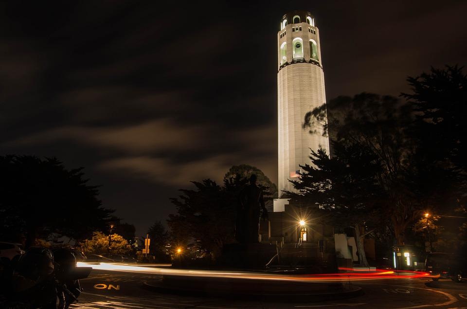 Light, Tower, San Francisco