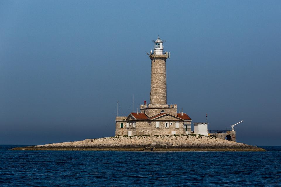 Lighthouse, Tower, Coast, Maritime, Daymark, Sky