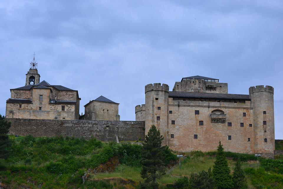 Castle, Middle Ages, Tower, Spain, Battlements