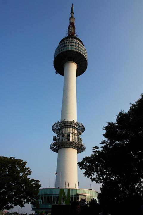 Namsan Tower, Tower, Republic Of Korea, Korea, N Tower