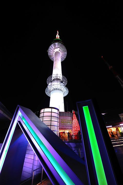 Namsan, Tower, Night View