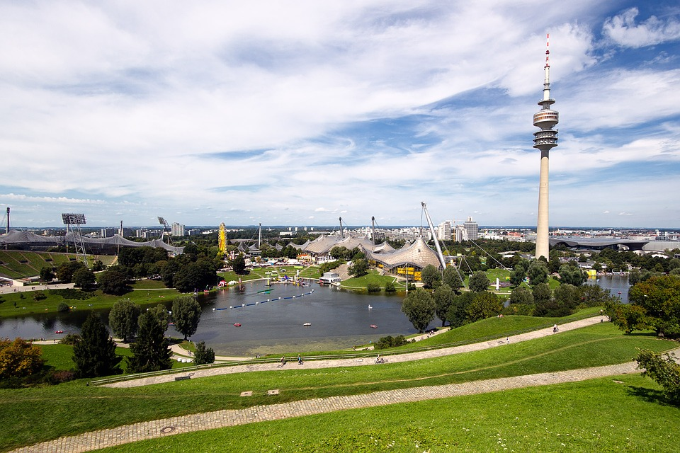 Munich, Olympic Park, Olympic Stadium, Tv Tower, Tower