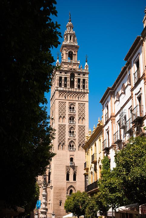 Sevilla, Spain, Church, Cathedral, Tourism, Tower