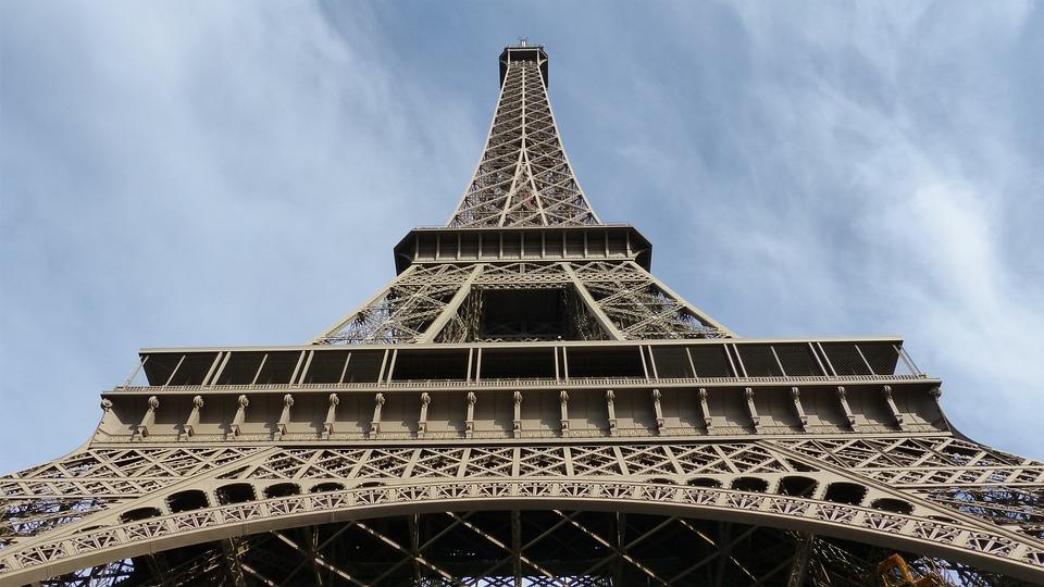 Paris, Eiffel Tower, Steel Structure, Tower