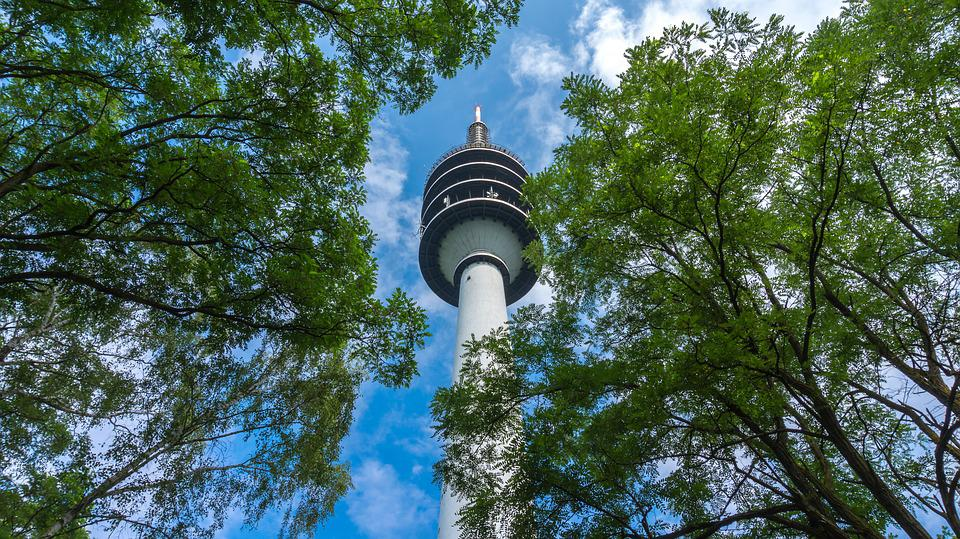 Telecommunication Tower, Tower, Building