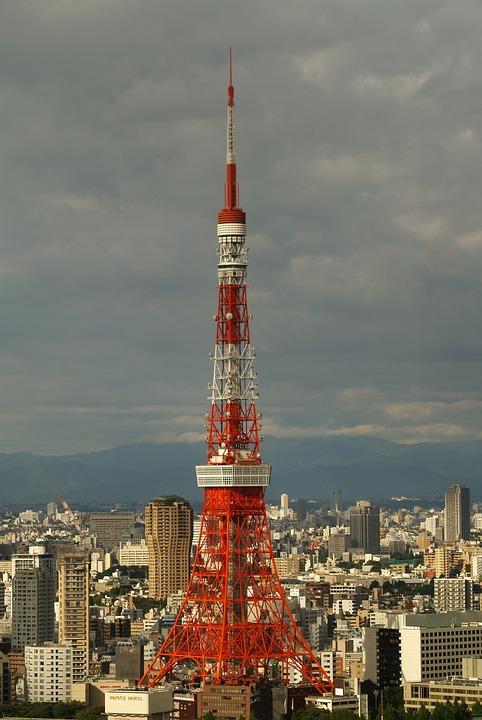 Tokyo, Tower, Tokyo Tower, Japan, Asia, City, Urban