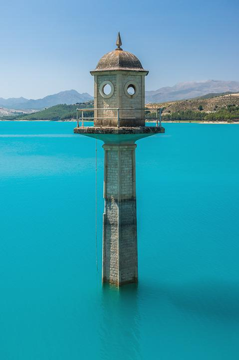 Tower, Water, Monuments, Tourism, Sea, Architecture