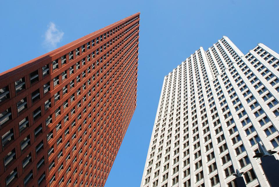 Highrise, Towers, Ministry, Home Affairs, Air, Red