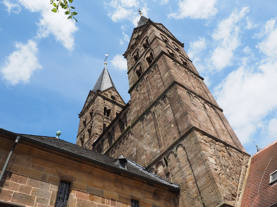 Dom, Towers, Church Steeples, Church, Fritzlar