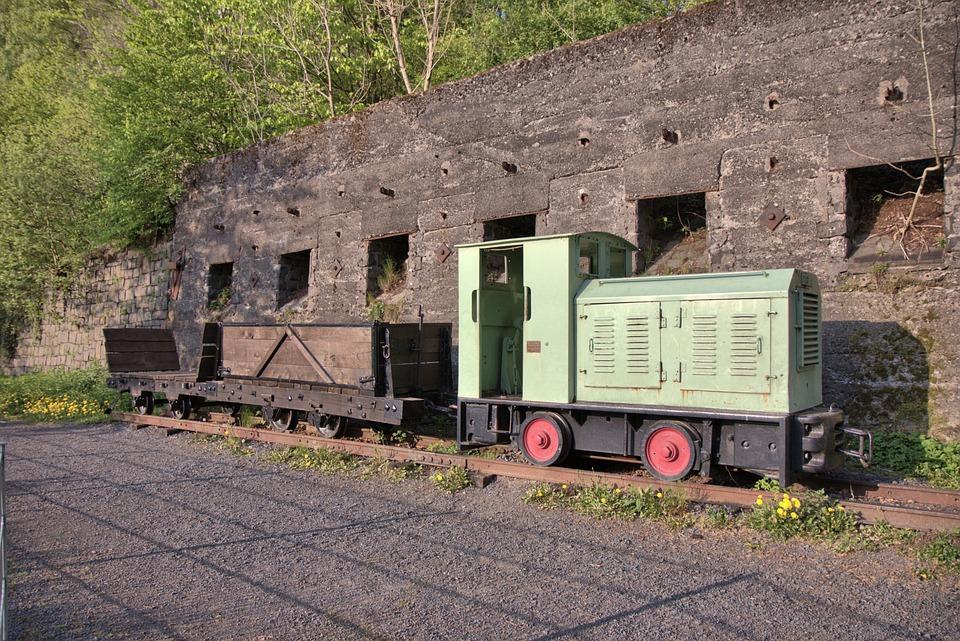 Mining Railway, Loco, Towing Vehicle, Mining, Nostalgia