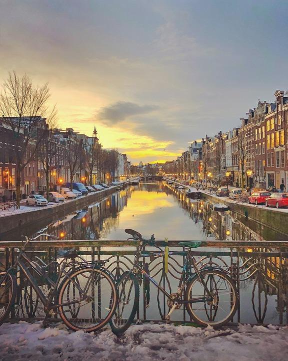 City, Travel, Street, Tourism, Urban, Town, Canal