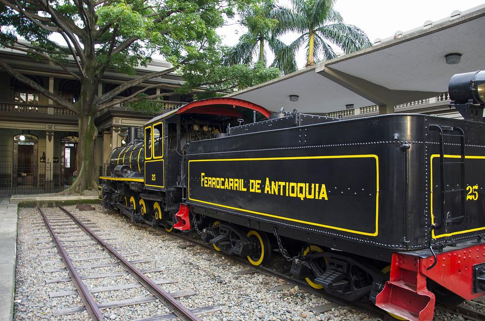 Railway, Medellin, Colombia, Antioquia, Town Center