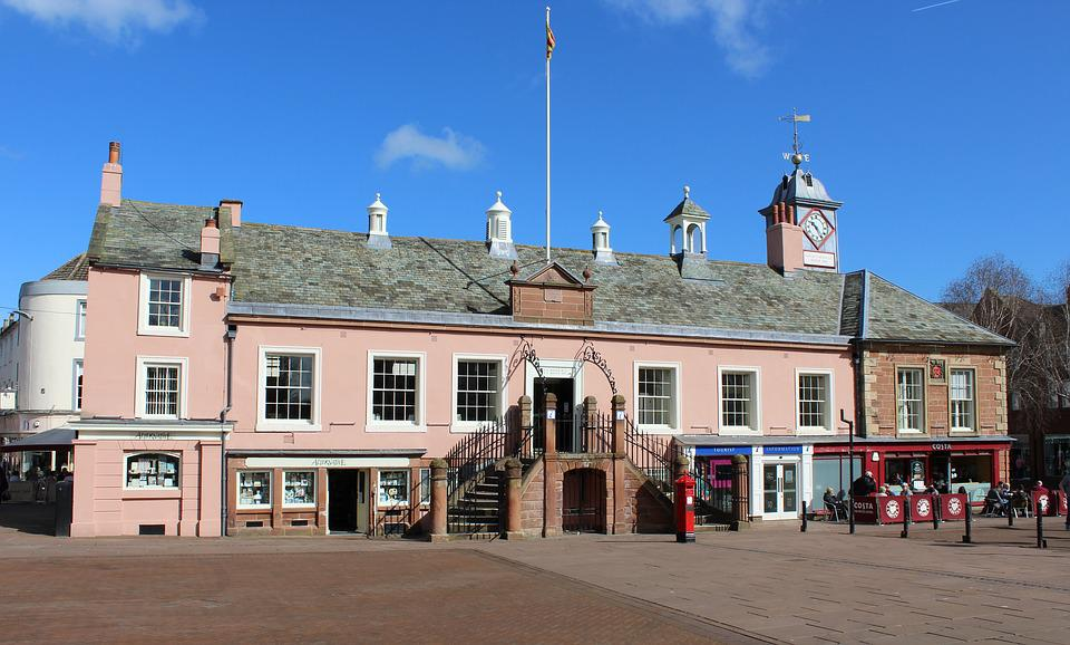 Carlisle, Town Hall, Town, Hall, City Centre, City