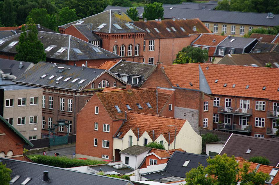City, Roofs, Town, Architecture, Europe, Building
