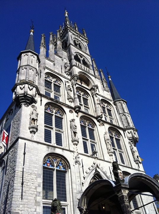 Town Hall, Gouda, Netherlands, Holland
