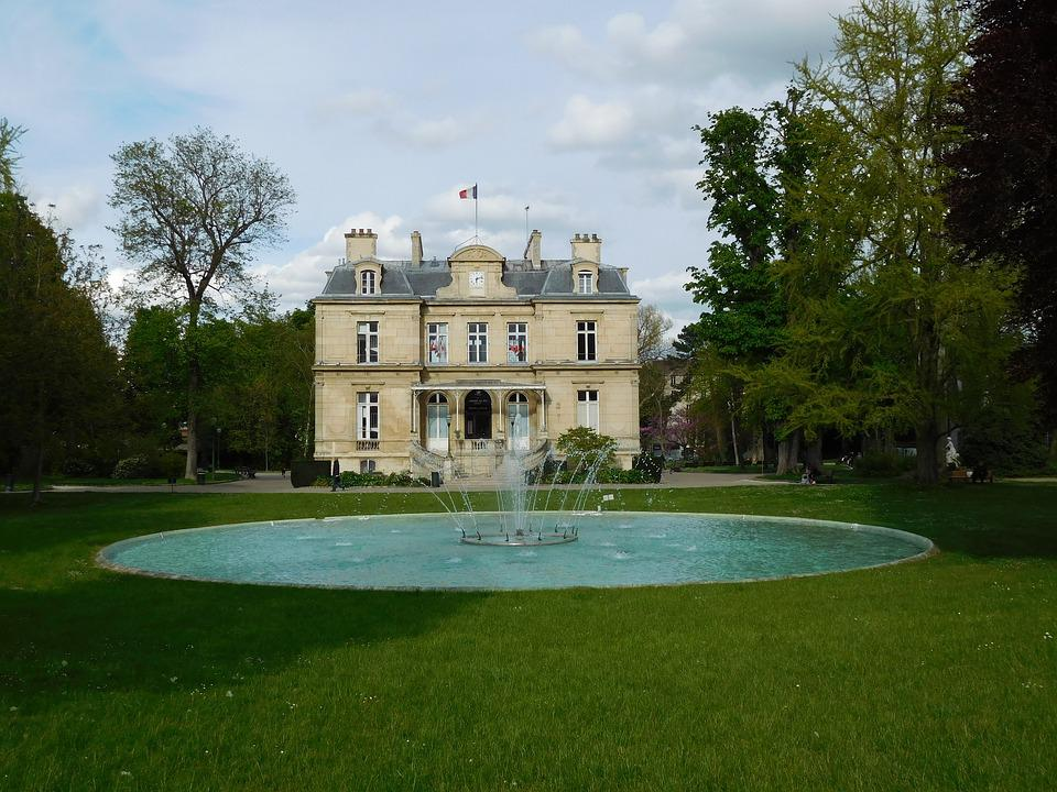 Monument, Town Hall, Heritage, France, Park, Fountain