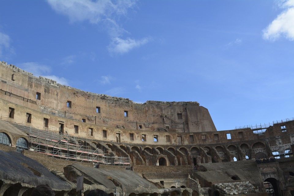 Italy, Rom, Colosseum, City, Town, Old, Monument
