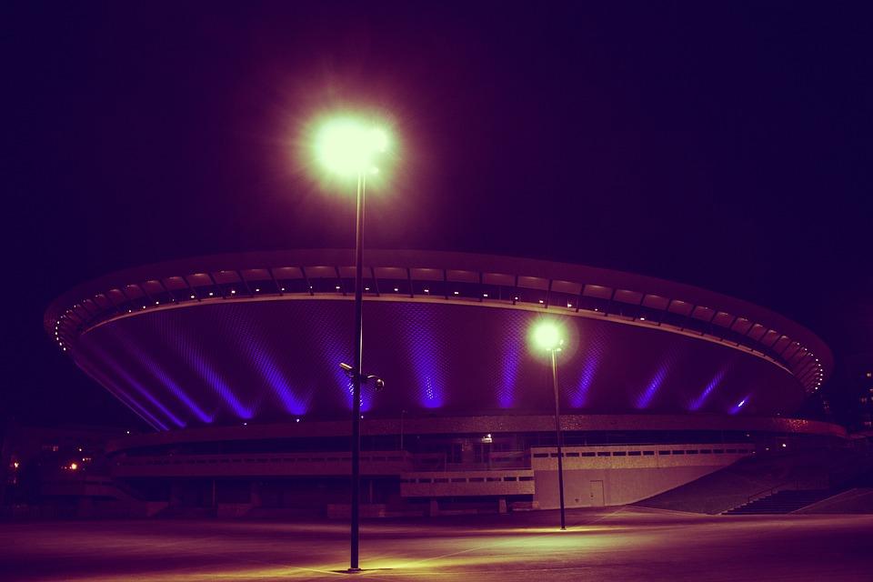 City, Katowice, Center, Silesia, Town, Spodek