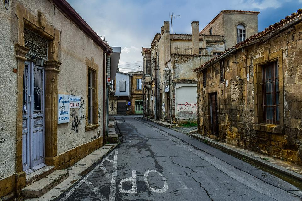 Architecture, Street, Town, Old, House, Old City, Decay
