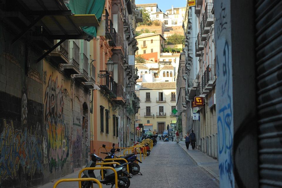 Street, City, Town, Travel, Urban