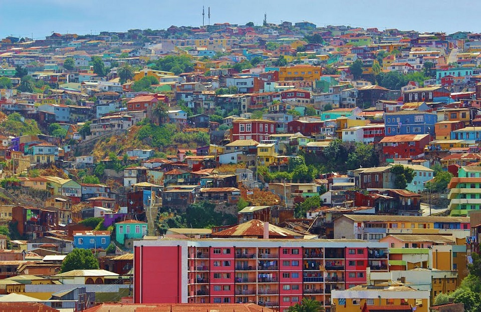 Valparaiso, Village, Town, Chile, South America