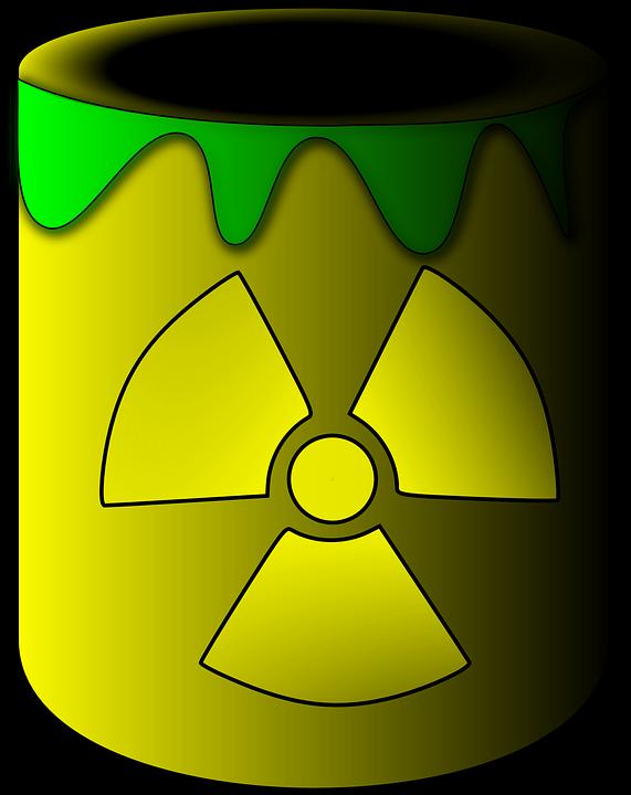 Toxic, Dump, Radioactive, Cup, Poison