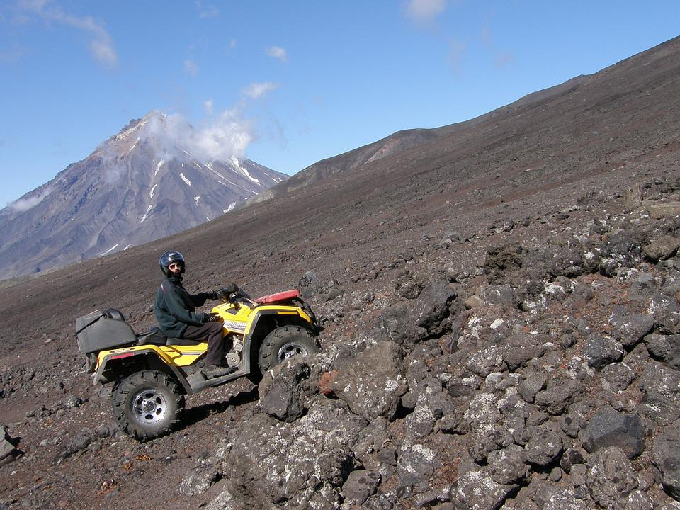 Volcano, Sands, Toxins, The Foot, Atv, Mountains