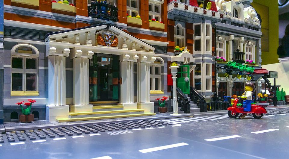Lego, City, Constructor, Game, Toy, Building, Detail