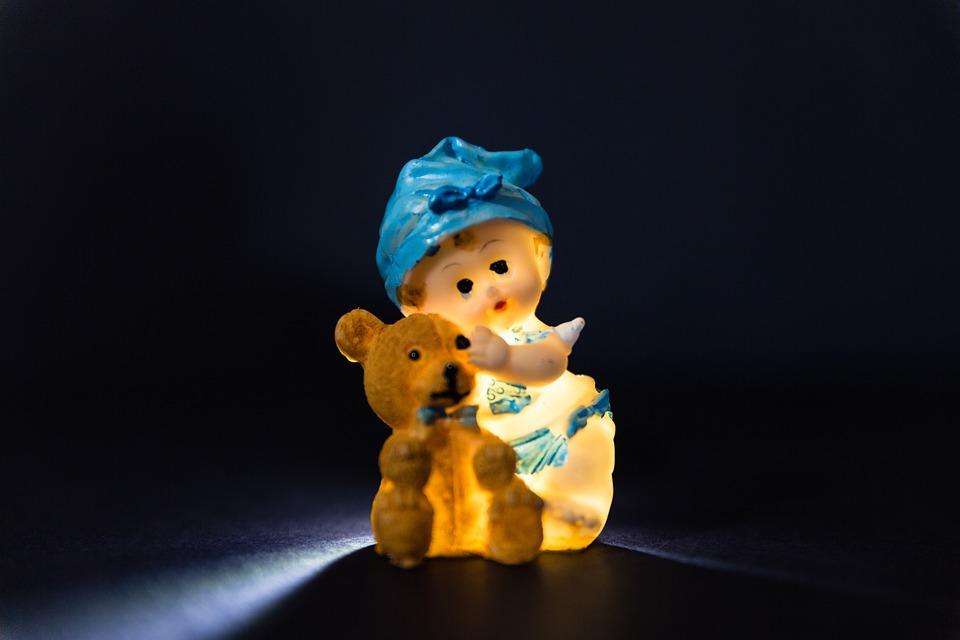 Gnome, Teddy Bear, Toy, Figurine