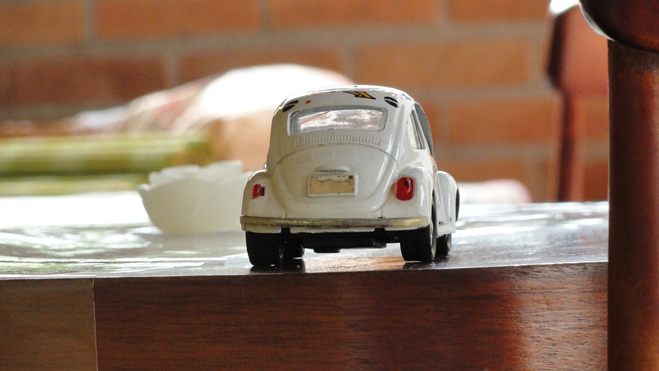 Car, Toy, Fusca, White, Childhood, End Of Afternoon