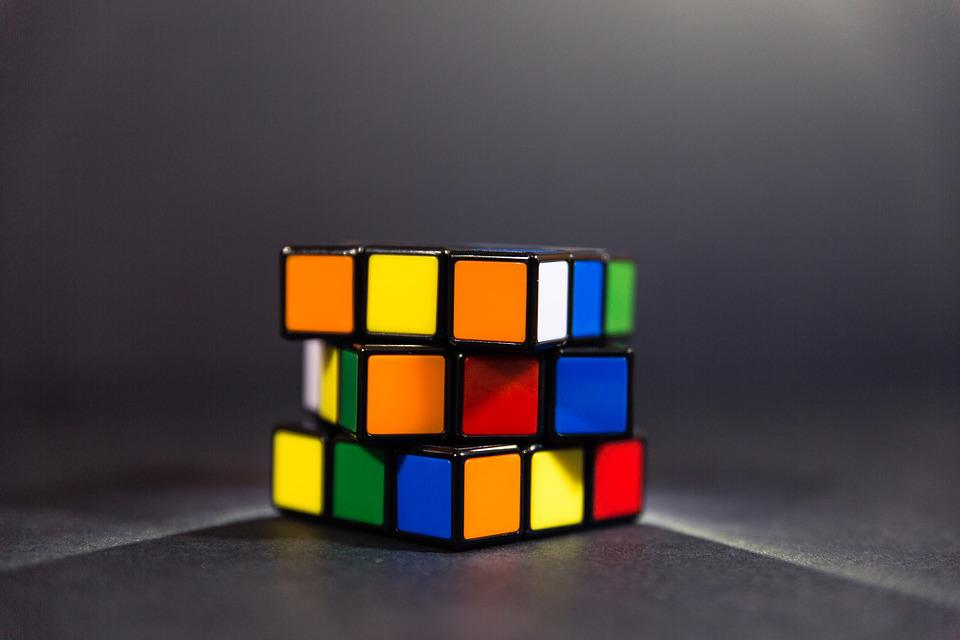 Rubik Cube, Puzzle, Toy, Game, Solving, Cube