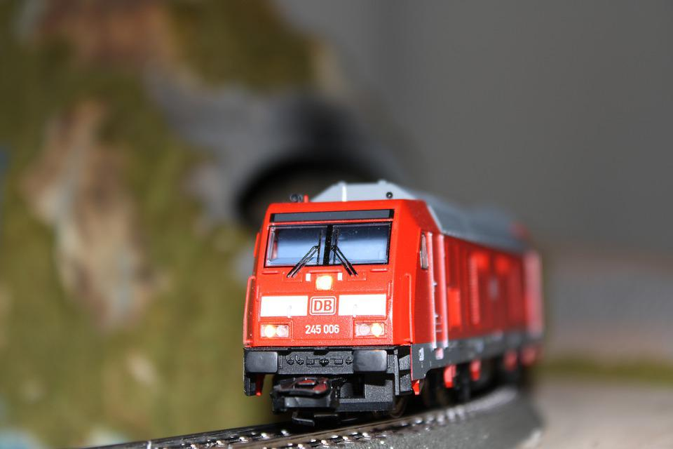 Model Train, Toy, Train, Model, Toy Train, Railway
