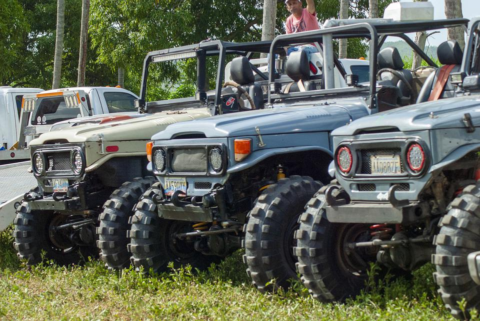 Jeep, Toyota, Offroad, Cohes, Automobile, Vehicle, Mud