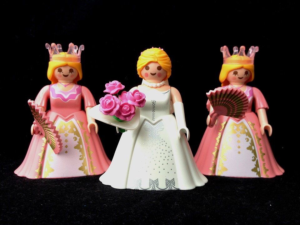 Playmobil, Figure, Toys, Bride, Wedding, Marriage